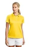 Women's Nike Golf Dri-FIT Pebble Texture Shirt Tour Yellow Thumbnail