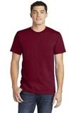 American Apparel Fine Jersey T-Shirt Cranberry Thumbnail