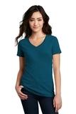 Women's Made Perfect Blend V-Neck Tee Deep Turquoise Fleck Thumbnail