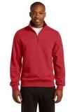 1/4-zip Sweatshirt True Red Thumbnail