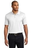 Performance Fine Jacquard Polo Shirt White Thumbnail