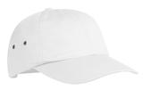 Fashion Twill Cap With Metal Eyelets White Thumbnail