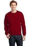 Heavy Blend Crewneck Sweatshirt Antique Cherry Red Thumbnail