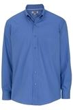 Men's Easy Care Poplin Shirt LS French Blue Thumbnail