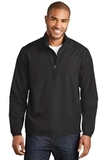 Zephyr 1/2-Zip Pullover Black Thumbnail