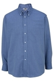 Men's Dress Button Down Oxford LS French Blue Thumbnail