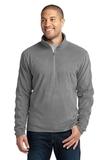 Microfleece 1/2-zip Pullover Pearl Grey Thumbnail