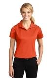 Women's Micropique Moisture Wicking Polo Shirt Deep Orange Thumbnail