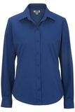 Women's Long Sleeve Service Shirt Royal Thumbnail