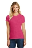 Women's Made Perfect Blend Crew Tee Heathered Watermelon Thumbnail