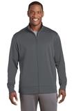 Sport-Wick Fleece Full-Zip Jacket Dark Smoke Grey Thumbnail