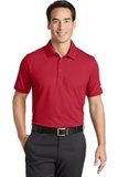 Nike Golf Dri-FIT Solid Icon Pique Modern Fit Polo Gym Red Thumbnail