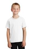 Youth 5.5-oz 100 Cotton T-shirt White Thumbnail