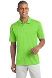 Legendary Sateen Moisture Wicking Polo Lime Thumbnail