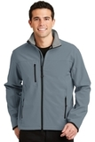 Glacier Soft Shell Jacket Atlantic Blue with Chrome Thumbnail