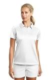 Women's Nike Golf Dri-FIT Pebble Texture Shirt White Thumbnail