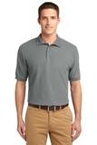 Tall Sized Silk Touch Polo Shirt Cool Grey Thumbnail