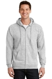 Full-zip Hooded Sweatshirt Ash Thumbnail
