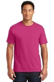 50/50 Cotton / Poly T-shirt Cyber Pink Thumbnail