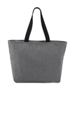 Essential Zip Tote Heather Grey Thumbnail