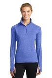 Women's Stretch 1/2-zip Pullover True Royal Heather Thumbnail