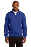 1/4-zip Sweatshirt True Royal Thumbnail
