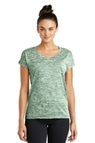 Women's Electric Heather Sporty Tee Forest Green Electric Thumbnail