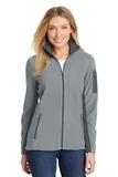 Women's Summit Fleece FullZip Jacket Frost Grey with Magnet Thumbnail