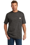 Carhartt Workwear Pocket Short Sleeve T-Shirt Carbon Heather Thumbnail