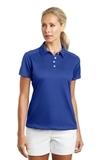 Women's Nike Golf Dri-FIT Pebble Texture Shirt Varsity Royal Thumbnail