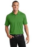 Diamond Jacquard Polo Vine Green Thumbnail