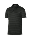 Nike Victory Striped Polo Black with Anthracite Thumbnail