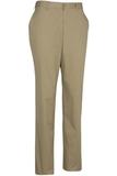Edwards Men's Flat Front Slim Chino Pant Tan Thumbnail