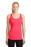 Women's Competitor Racerback Tank Hot Coral Thumbnail