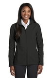 Women's Collective Soft Shell Jacket Deep Black Thumbnail