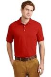 Ultra Blend 5.6-ounce Jersey Knit Sport Shirt Red Thumbnail