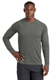 Long Sleeve Rashguard Tee Dark Smoke Grey Thumbnail