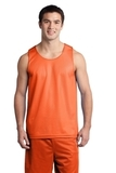 Sport-tek Posicharge Classic Mesh Reversible Tank Deep Orange Thumbnail