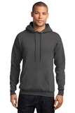 7.8-oz Pullover Hooded Sweatshirt Charcoal Thumbnail