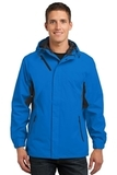 Cascade Waterproof Jacket Imperial Blue with Black Thumbnail