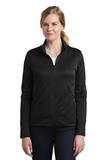 Women's Nike Golf Therma-FIT Full-Zip Fleece Black Thumbnail