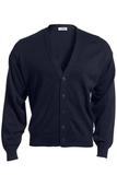 Men's No-pocket Cardigan Navy Thumbnail