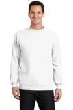7.8-oz Crewneck Sweatshirt White Thumbnail