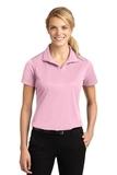 Women's Micropique Moisture Wicking Polo Shirt Light Pink Thumbnail