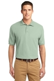 Extended Size Silk Touch Polo Shirt Mint Green Thumbnail