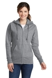 Women's Classic Full-Zip Hooded Sweatshirt Athletic Heather Thumbnail