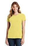 Women's Port & Company Fan Favorite Tee Yellow Thumbnail