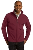 Core Soft Shell Jacket Maroon Thumbnail