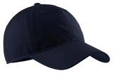 Soft Brushed Canvas Cap Navy Thumbnail