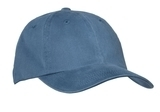 Garment-washed Cap Steel Blue Thumbnail